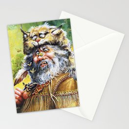 Bugged Mountain Man Stationery Cards