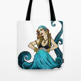 Water Dancer Tote Bag