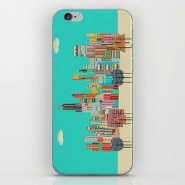 Chicago city (summer days) iPhone Skin
