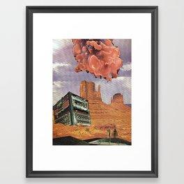 Monument Valley, 2120 A. D. Framed Art Print