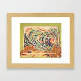 Woosh! Framed Art Print