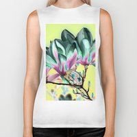 popart Biker Tanks featuring MAGNOLIA - PopArt by CAPTAINSILVA
