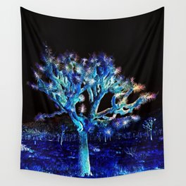 Joshua Tree VG Hues by CREYES Wall Tapestry