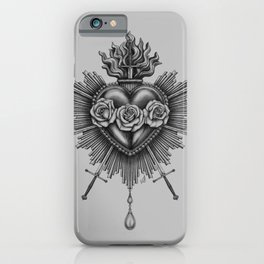Immaculate Heart iPhone Case