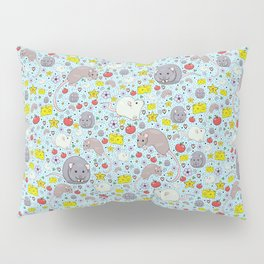 Pretty Rat and Mouse Pattern Pillow Sham