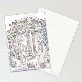 Pen + Ink SF Palace of Fine Arts Stationery Cards