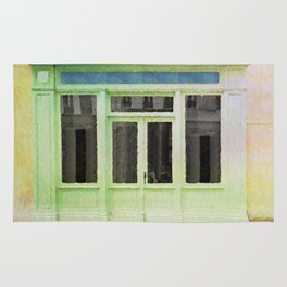 Parisin watercolor Rug