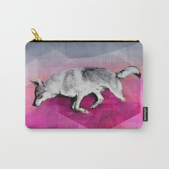 The Wolf Geometry Carry-All Pouch