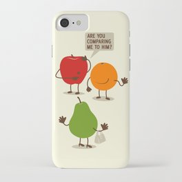Like Apples and Oranges iPhone Case