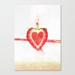 Stawberry Canvas Print
