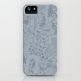 DC NYC London - Powder Blue iPhone Case