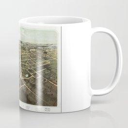 Bird's Eye View of Hillsdale, Michigan (1866) Coffee Mug