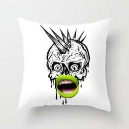 Wh#t? Throw Pillow
