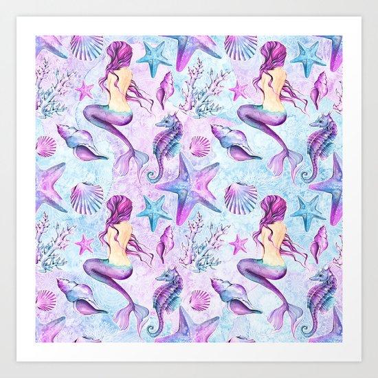Enchanted Ocean #1 Art Print