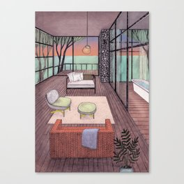 Treehouse Canvas Print