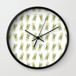 Pineapples are Fresh Wall Clock