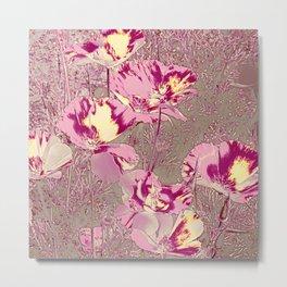 Amazing glowing Flowers 2B Metal Print