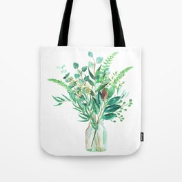 greenery in the jar Tote Bag