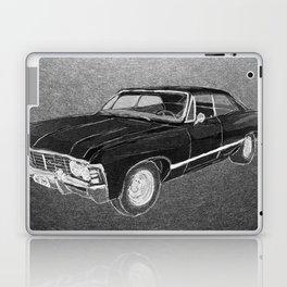 '67 Chevy Impala (Supernatural) Laptop & iPad Skin