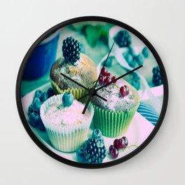 Fresh fruits Vintage kitchen Design Wall Clock