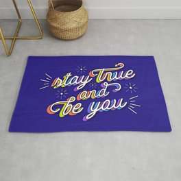 Just Be Yourself Rug