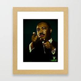 Martin Luther King Framed Art Print