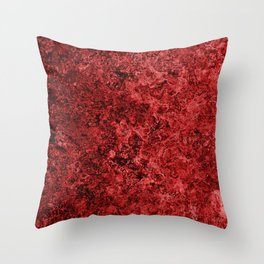 Lava And Blood Throw Pillow