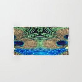 Peacock Star Hand & Bath Towel