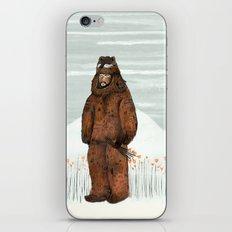 Wilder Mann - The Bear iPhone & iPod Skin