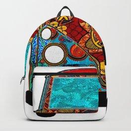 Red Tropic Van Backpack