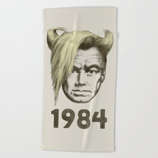 1984 Beach Towel