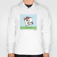 lighthouse Hoodies featuring Lighthouse by Masonic Comics