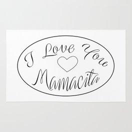 """ Mother's Day "" - I Love You Mamacita Rug"
