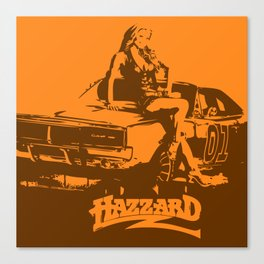 Hazzard & Girls Canvas Print
