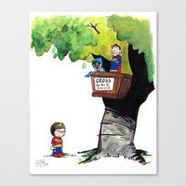 Get Rid Of Slimy Superheroines Canvas Print