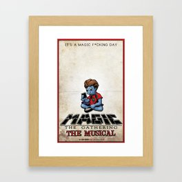 Magic The Gathering The Musical Framed Art Print