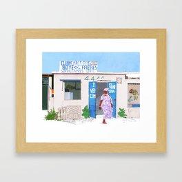 Somone Framed Art Print