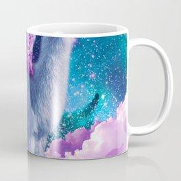 Rainbow Llama - Cat Llama Coffee Mug