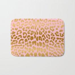 Leopard (Pink & Gold) Bath Mat