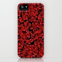 Red Blood cells iPhone Case