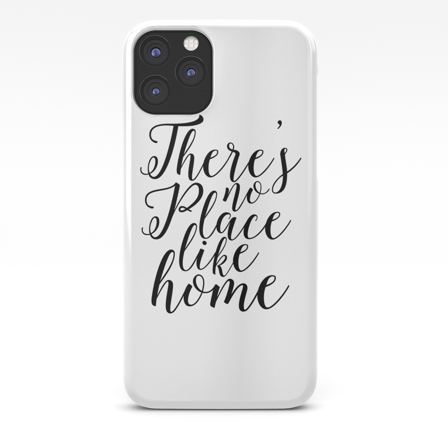 Home Sweet Home Typography Poster There Is No Place Like Home Printable Quotes Home Decor Home Sign Iphone Case