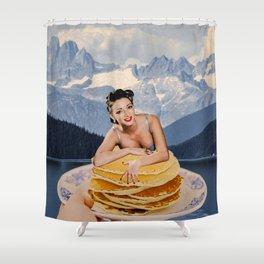 Pancake day Shower Curtain