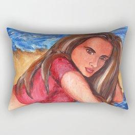 Beach Days Rectangular Pillow