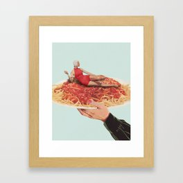 Saucy Framed Art Print