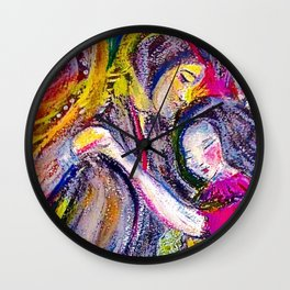 Dance With My Heart Wall Clock
