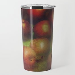 Once Upon a Time a Red Apple Travel Mug