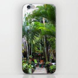 Dreamy Jungle Garden iPhone Skin