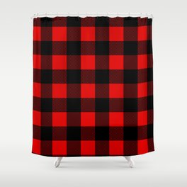 Plaid Shower Curtain