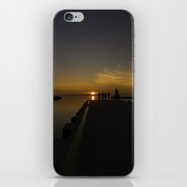 Sunset at the Pier iPhone Skin