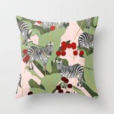 Zebra Harem #society6 #decor #buyart Throw Pillow